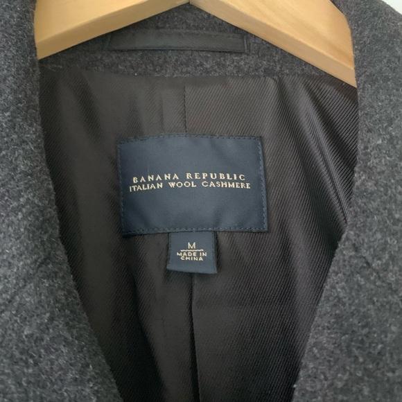 962b800f7 Men's Banana Republic Italian Wool Cashmere Coat